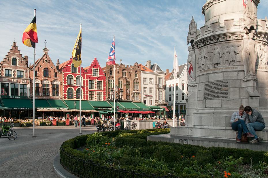Restaurants am Brugge Markt