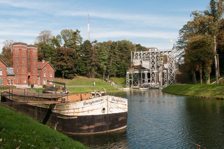 Schiffshebewerk 3 am Canal du Centre