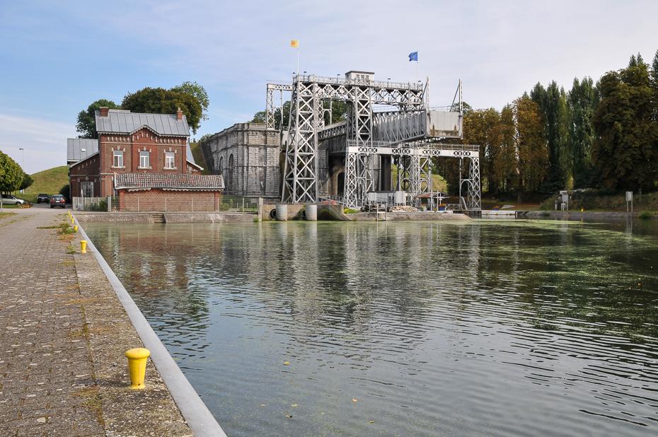 Schiffshebewerk 4 am Canal du Centre