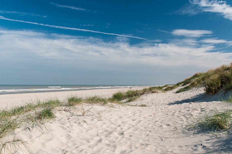 Strand bei De Panne