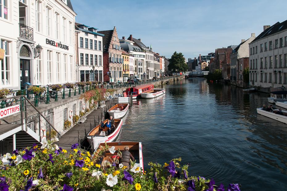 Gracht in Gent