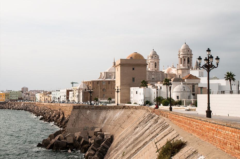 Cadiz-Uferpromenade