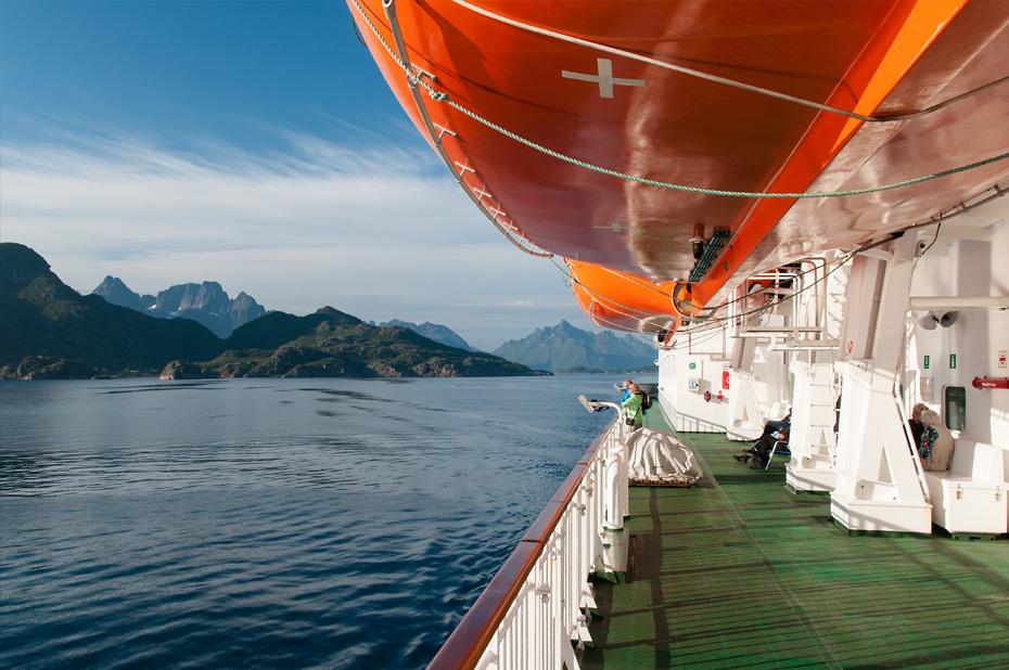 Mit der MS Nordkap durch den Trollfjord