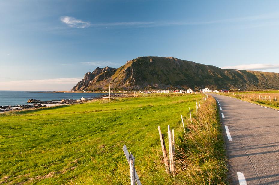 Die Landschaftsroute Andøya im Westen der gleichnamigen Insel