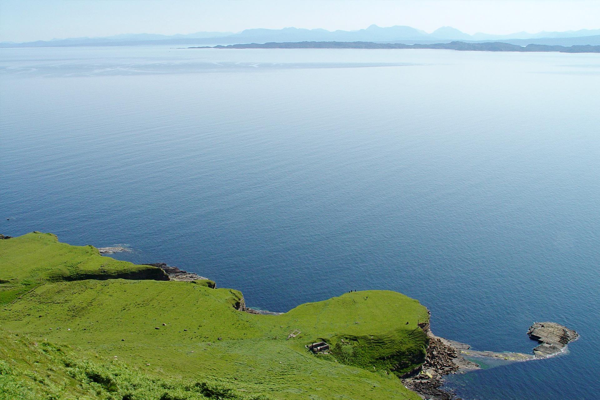 Isle of Skye - Blick zurück auf's Festland