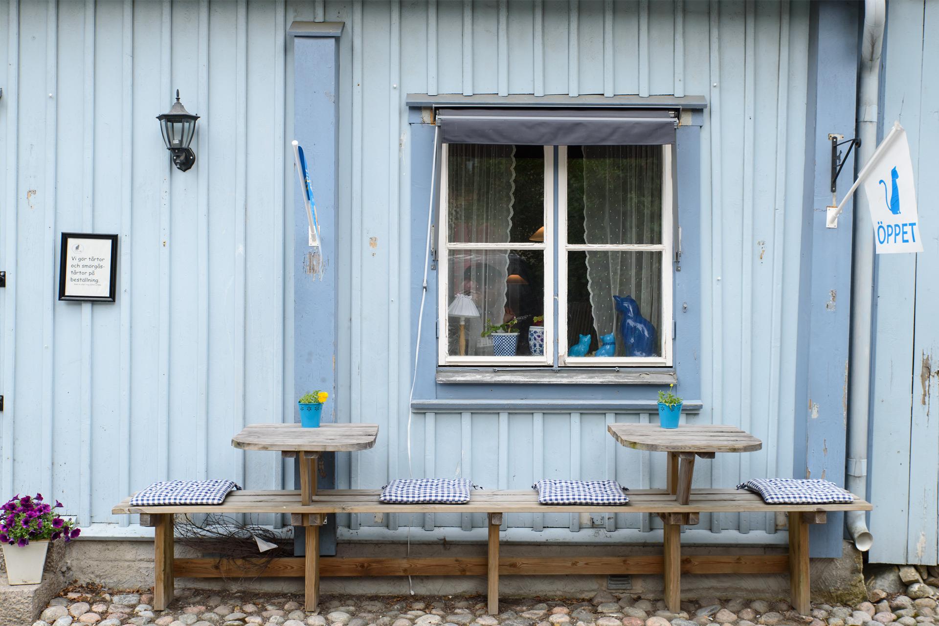 Bla Katten Café in Mariefred