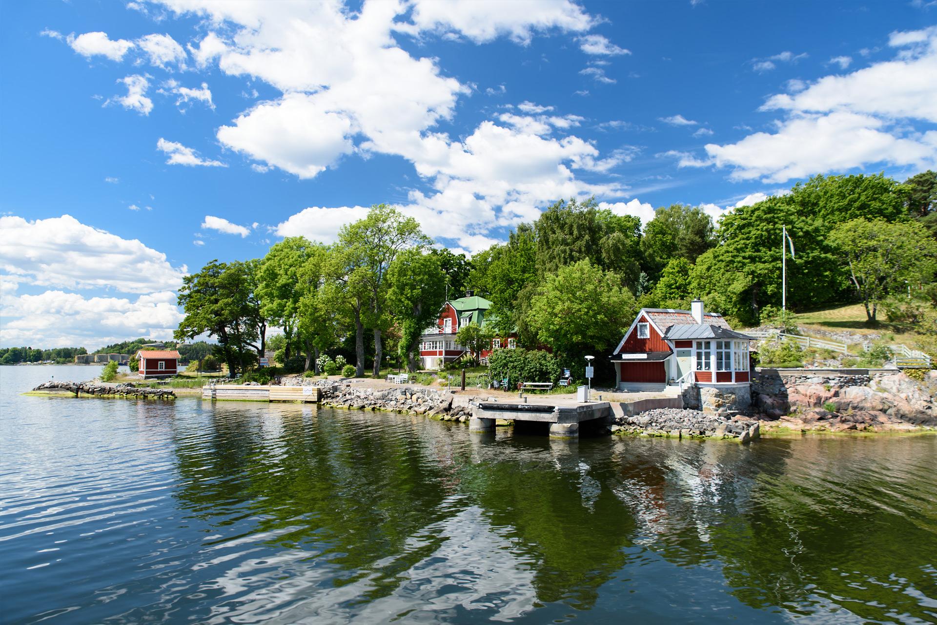 Bootstour durch die Schären vor Stockholm