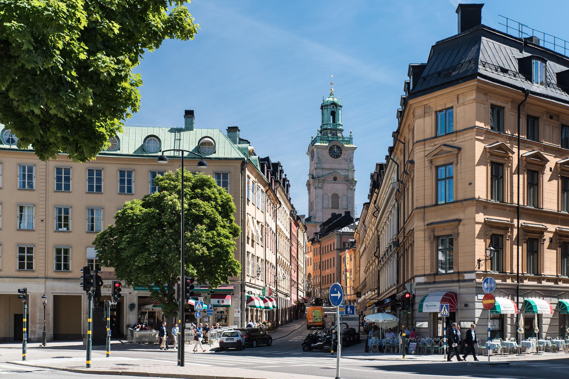 Gamla Stan, die Altstadt von Stockholm
