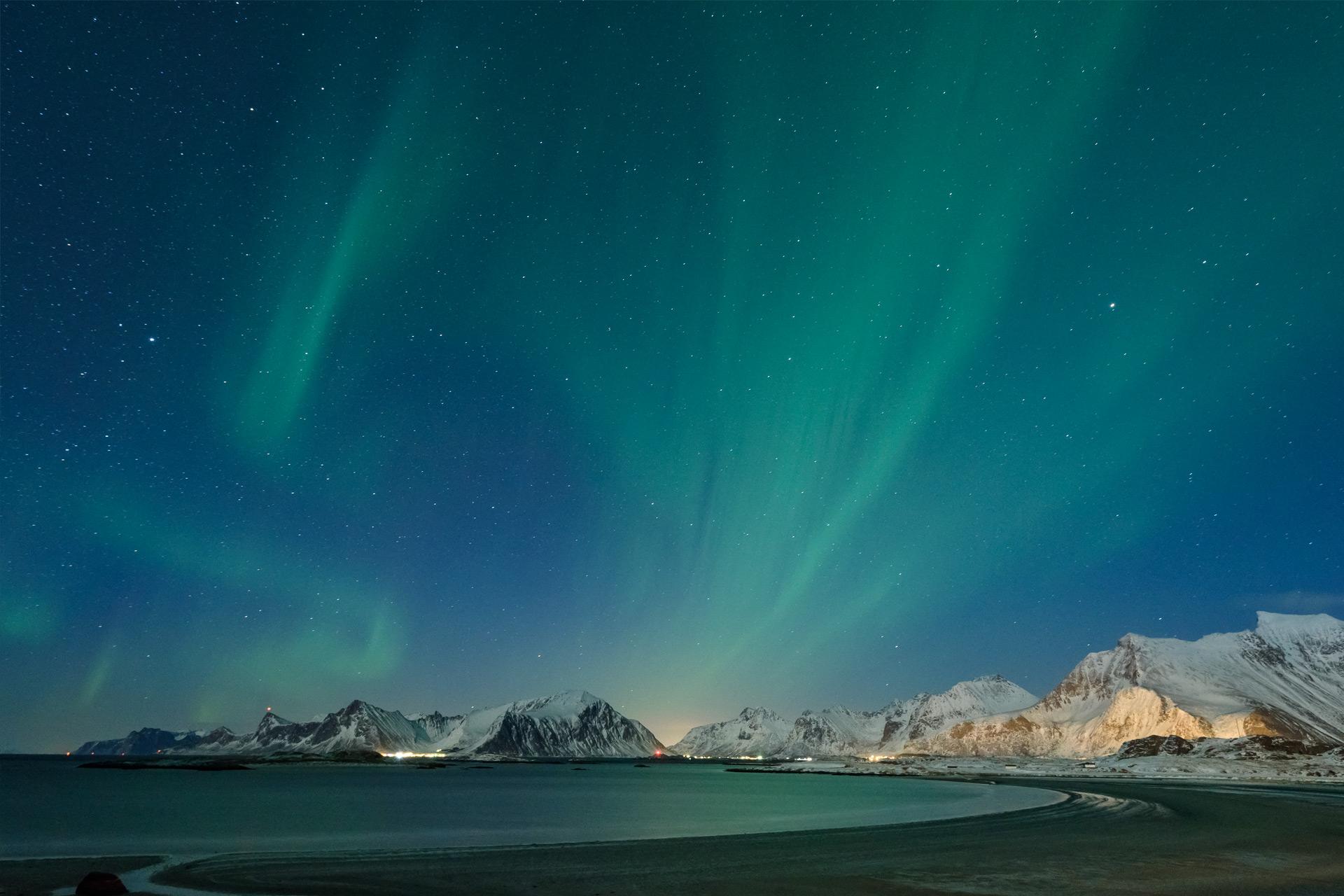Polarlichter bei Fredvang