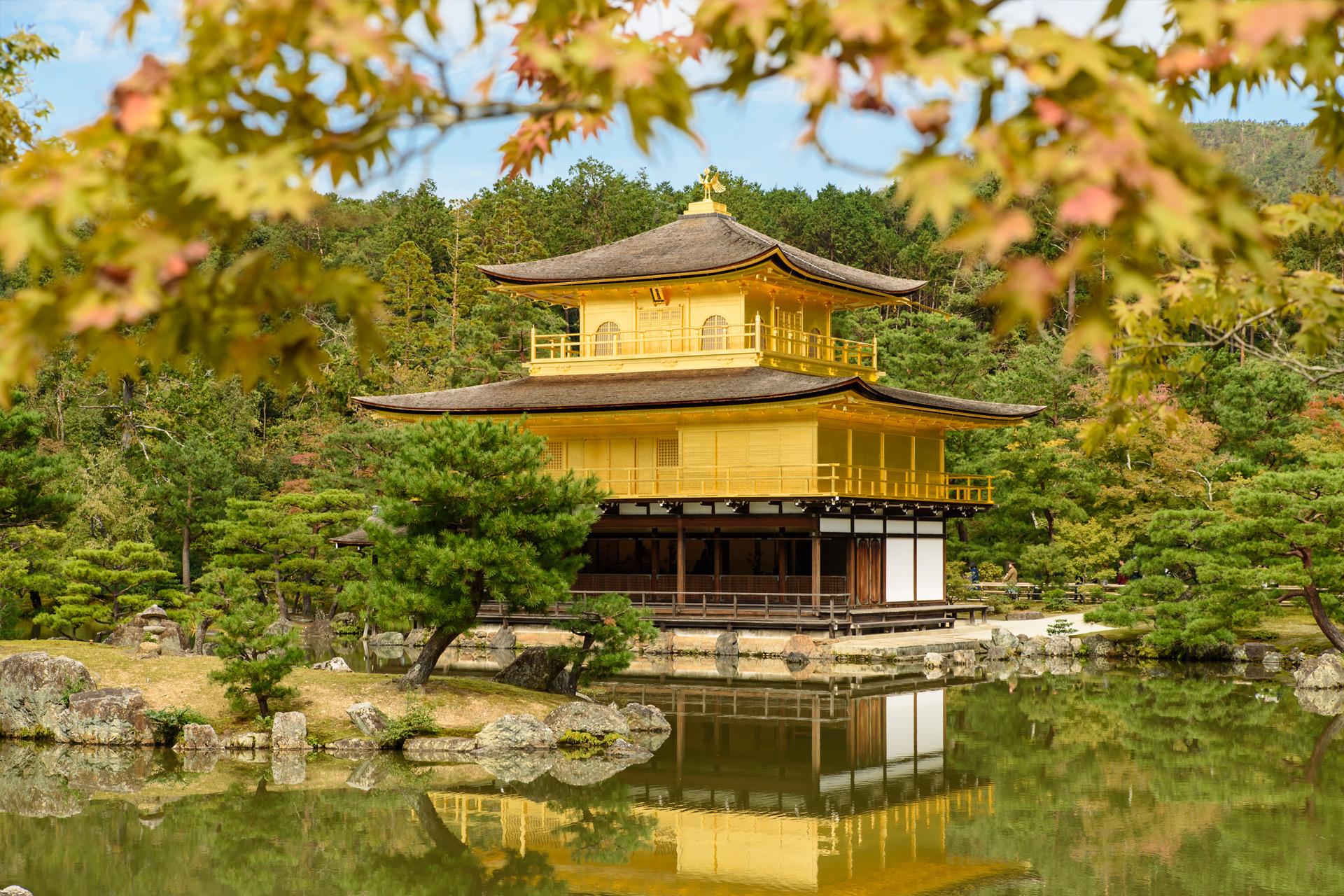 Goldener Pavillon, Kyoto