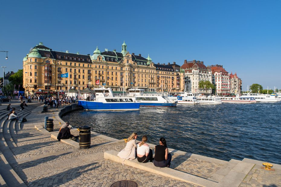 Stockholm - Strandvagen
