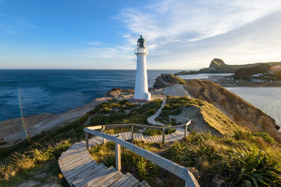 Neuseeland - Castlepoint Lighthouse