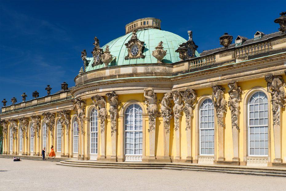Berlin - Potsdam Schloss Sanssouci