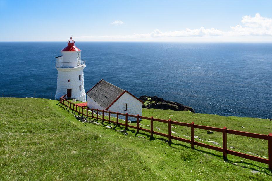 Leuchtturm auf Nólsoy