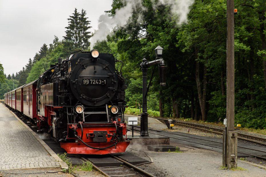 Dampflokomotive auf den Brocken