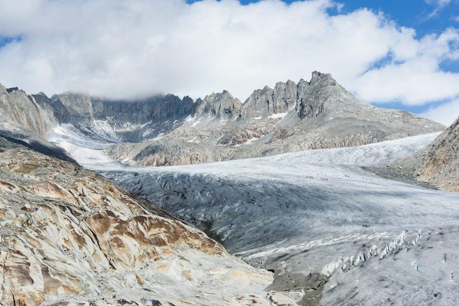 Rhone Gletscher, Schweiz