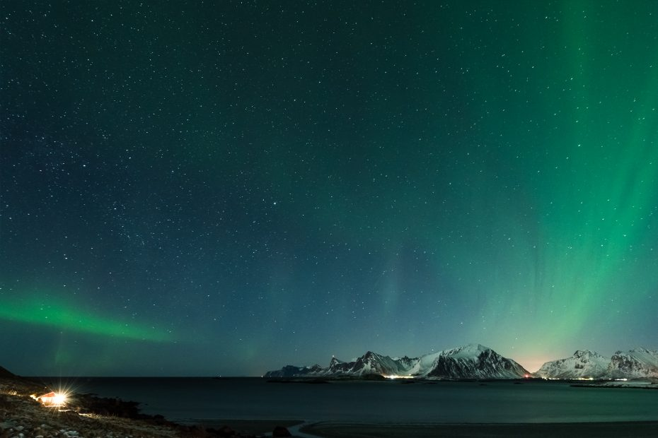 Polarlichter | Lofoten, Norwegen