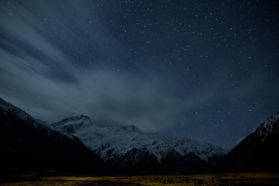 Sternenhimmel | Mount Cook Nationalpark, Neuseeland