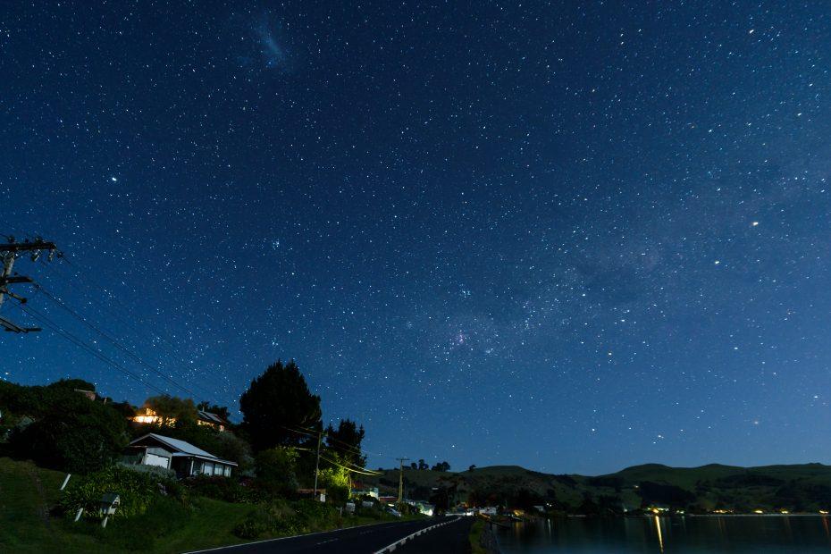 Milchstraße & Magellansche Wolke | Otago Peninsula, Neuseeland