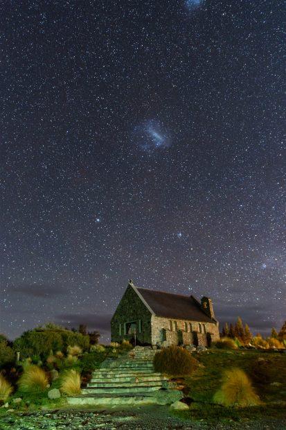 Magellansche Wolken | Lake Tekapo, Neuseeland