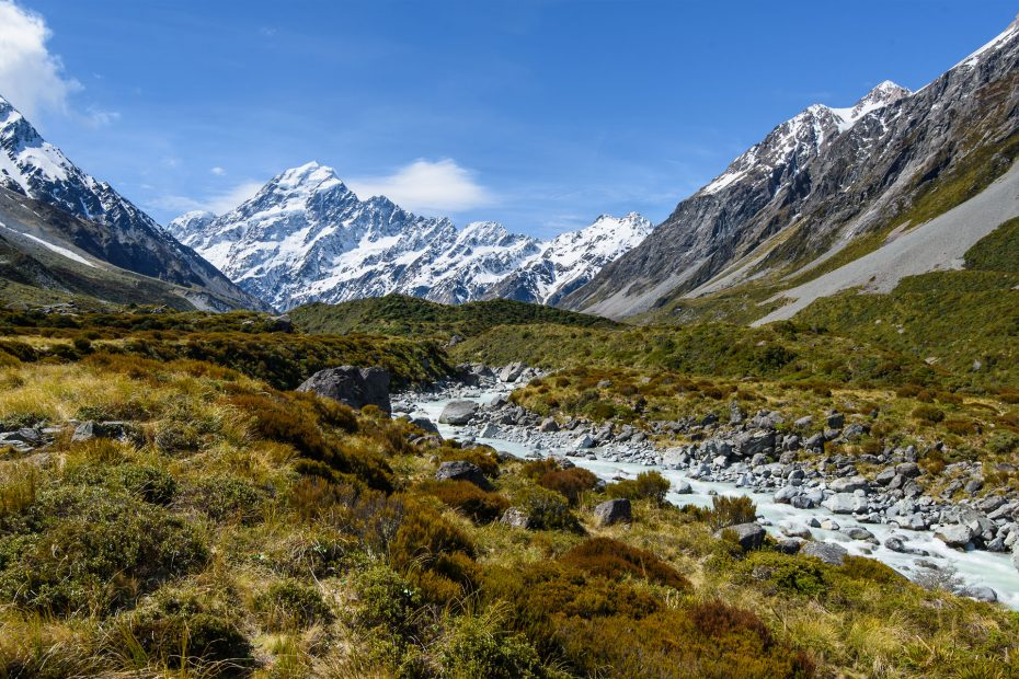 Hooker Valley Track | Neuseeland