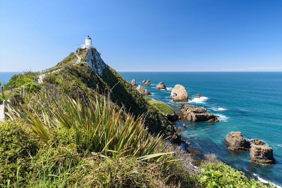 Nugget Point Lighthouse | Neuseeland